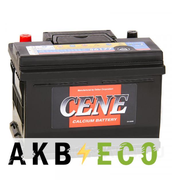 Автомобильный аккумулятор Cene 56177 (61R 610A 242x175x175)