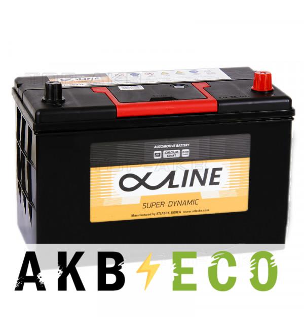 Автомобильный аккумулятор Alphaline SD 125D33L 115R 900A 320x172x229