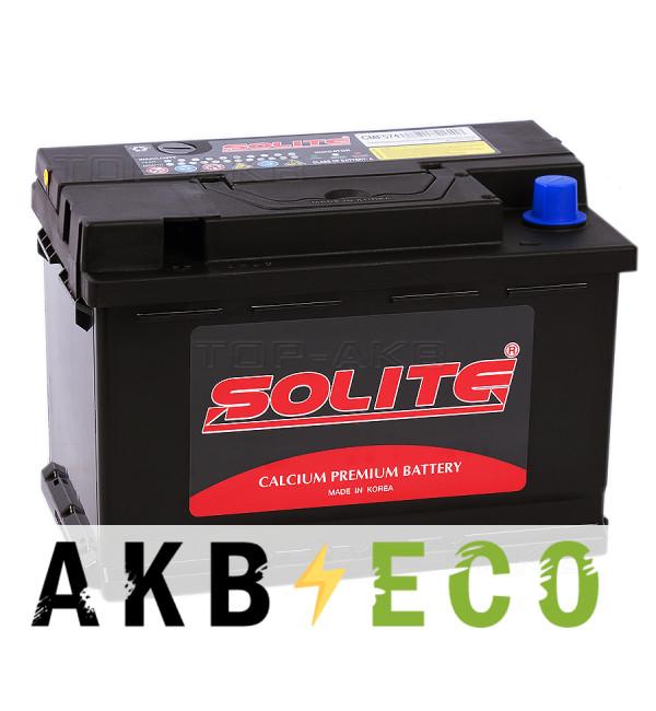 Автомобильный аккумулятор SOLITE 57413 (74L 690 277x174x189)