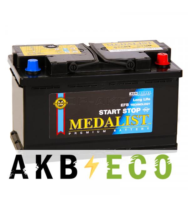 Автомобильный аккумулятор Medalist EFB 92730 (85 Ач обр. пол. 820А 315x175x190)