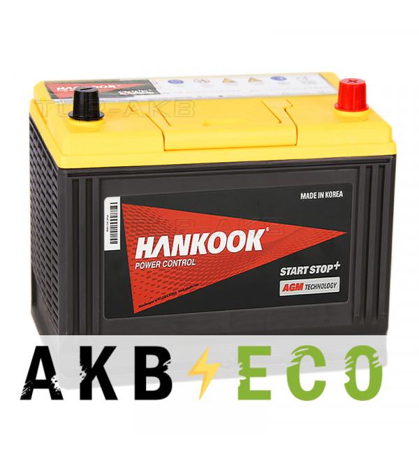 Автомобильный аккумулятор Hankook AGM 65D26L (75R 750A 260х173х225) Start Stop Plus