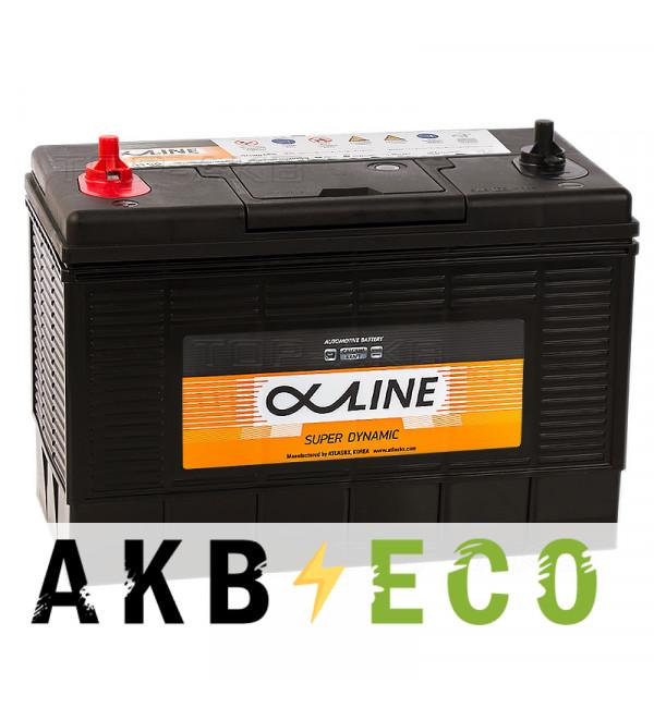 Автомобильный аккумулятор Alphaline SD 31-1000S прямая пол. 1000А (330x173x240) клеммы под гайку