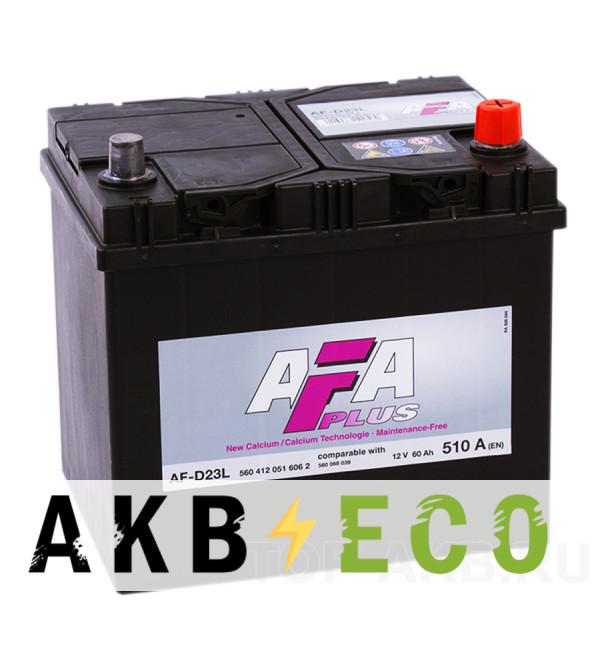 Автомобильный аккумулятор AFA Plus 60R 510A (232x173x225) AF-D23L