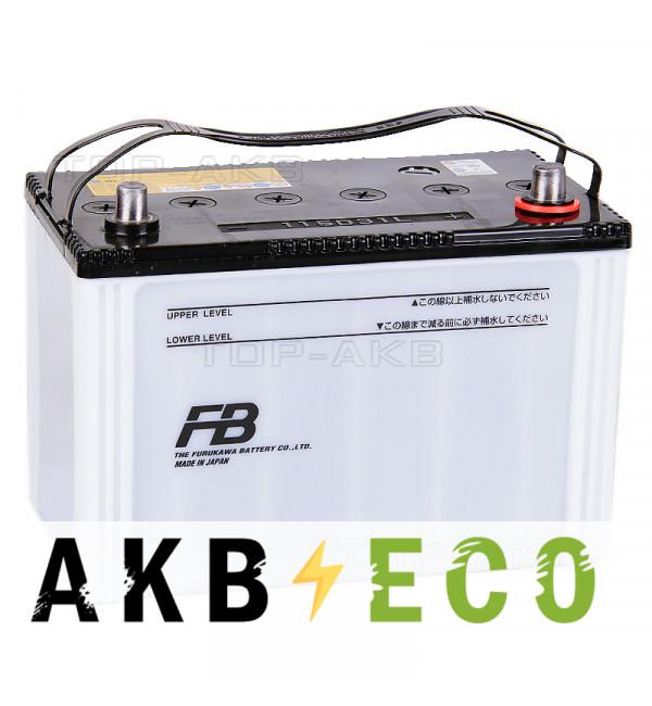 Автомобильный аккумулятор FB7000 115D31L (90R 900A 306x173x225)