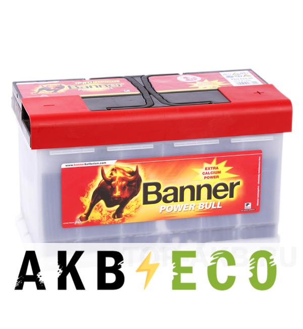 Автомобильный аккумулятор BANNER Power Bull Pro (84 40) 84R 760A 315x175x190