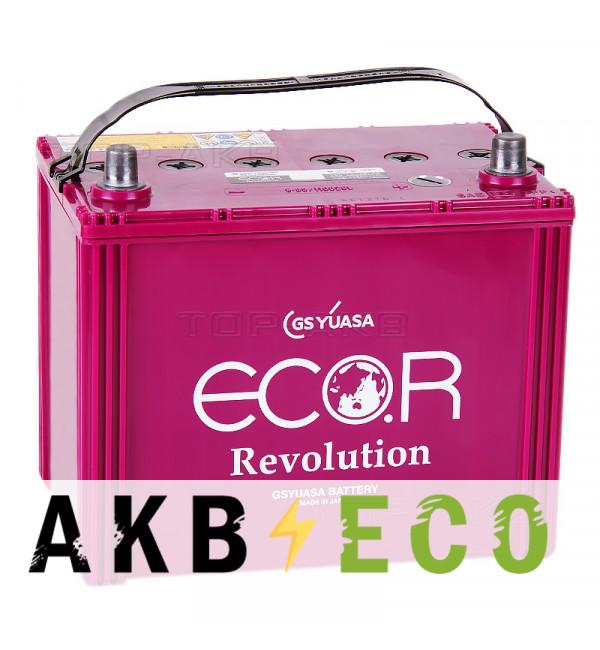 Автомобильный аккумулятор GS Yuasa ER-110D26L S-95 (80R 760A 260x173x227) ECO.R Revolution Star-Stop
