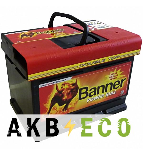 Автомобильный аккумулятор BANNER Power Bull (62 05) 62R 540A 241x175x190