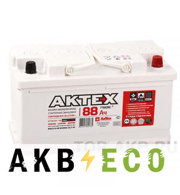 Автомобильный аккумулятор Актех 88R низкий (770A 315x175x175)