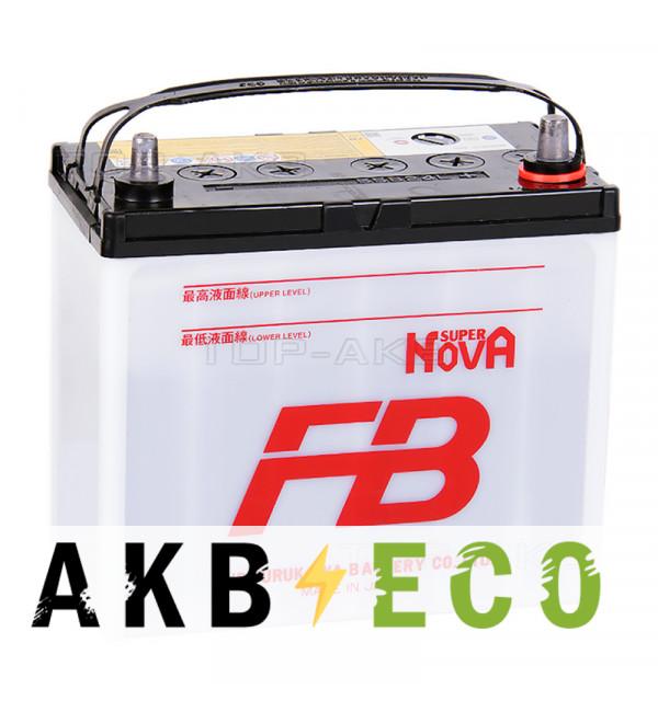 Автомобильный аккумулятор FB Super Nova 55B24L (45R 440A 238x129x225)