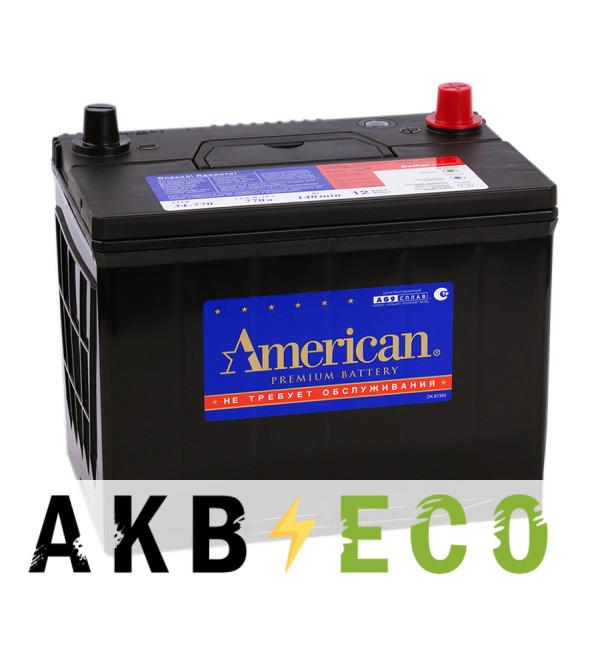 Автомобильный аккумулятор American 34770 (90L 770A 260x173x225)