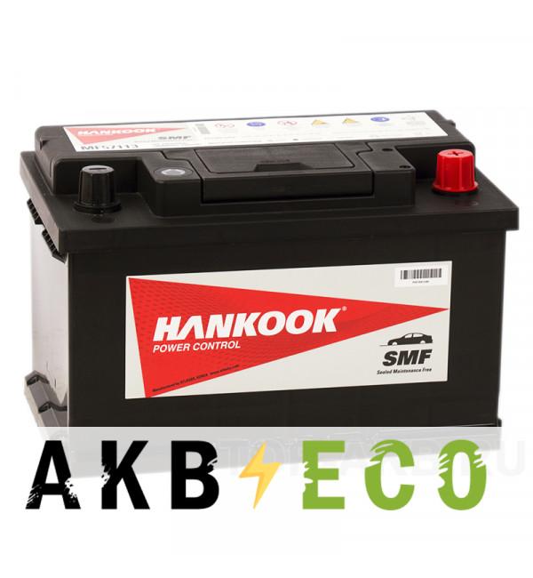 Автомобильный аккумулятор Hankook 57113 (72R 640A 278х175х175)