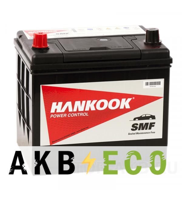 Автомобильный аккумулятор Hankook 75D23R (65L 580А 229х172х225)