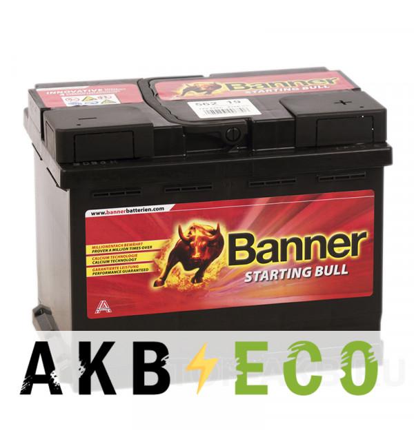 Автомобильный аккумулятор Banner Starting Bull (562 19) 62R 510A 242x175x190