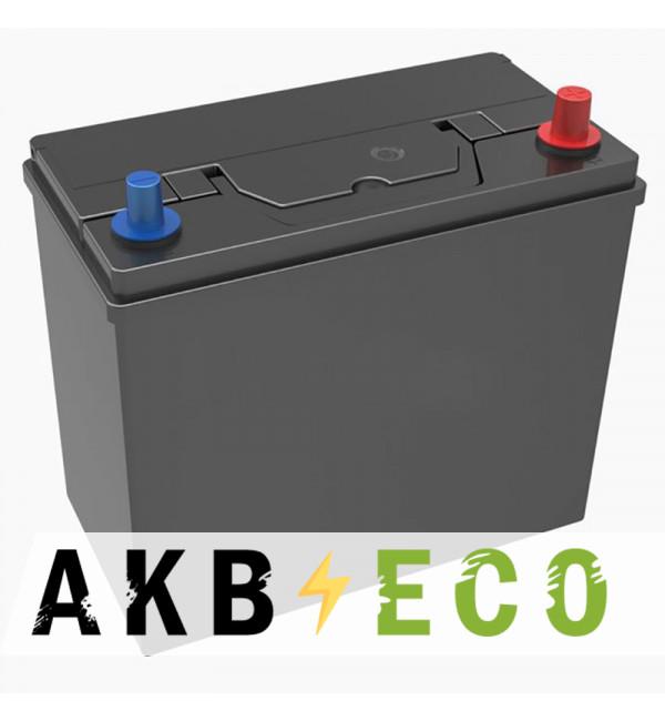 Автомобильный аккумулятор Подменный B24L обр. пол. (238x129x227) узкие кл. 45-50 Ач