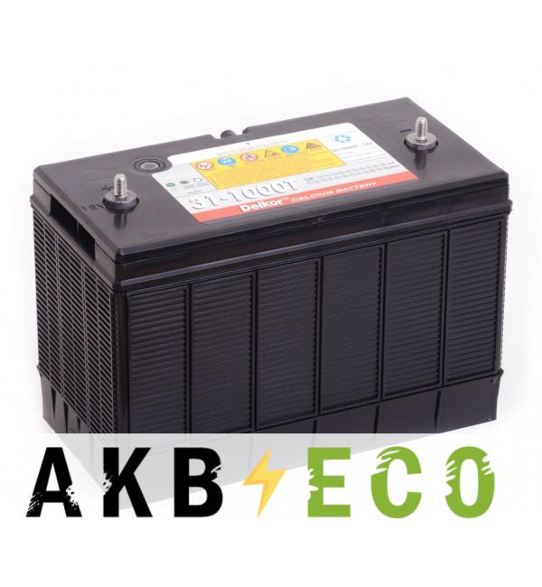 Автомобильный аккумулятор Delkor 31-1000T (160 min 1000 A 330x173x240)