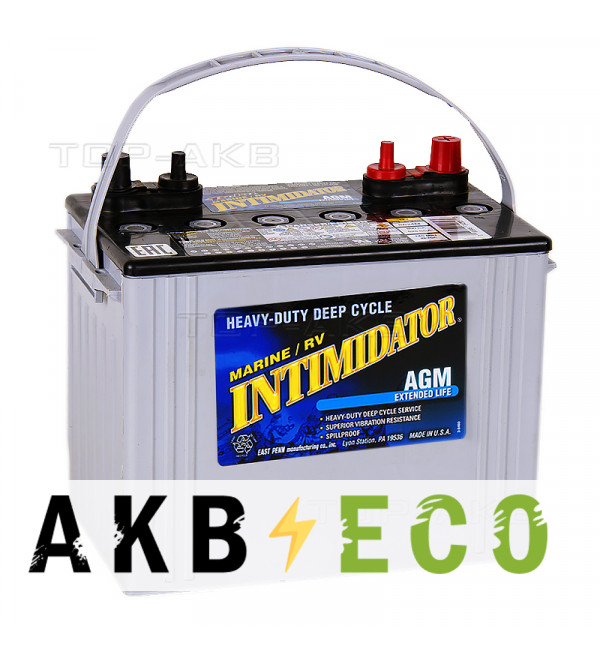 Автомобильный аккумулятор Deka Intimidator AGM 79 Ач 525A (273x171x236) 8A24M Marine