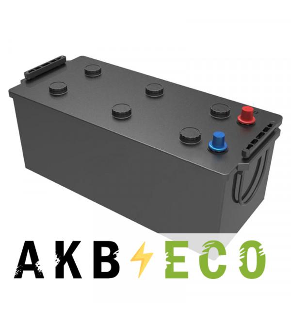 Автомобильный аккумулятор Подменный 180-190 Ач прям. пол. (513x223x223) плюс справа