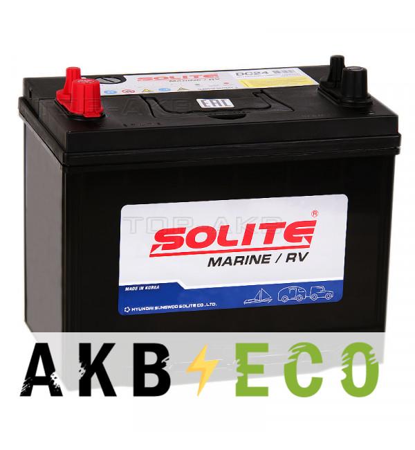 Автомобильный аккумулятор Solite MARINE DC24 (70 Ah 550A 260x173x225)
