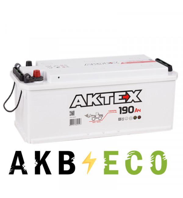 Автомобильный аккумулятор Актех 190 рус 1350A 518x228x238
