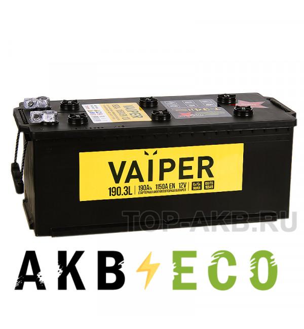Грузовой аккумулятор Vaiper 190 euro 1150А 513x223x223