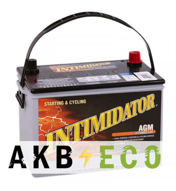Автомобильный аккумулятор Deka Intimidator AGM 75L (261x175x200) 9A34