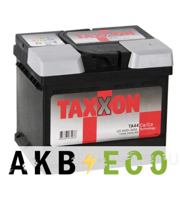 Автомобильный аккумулятор Taxxon 44R низкий 360A (207x175x175) 112044, 53649