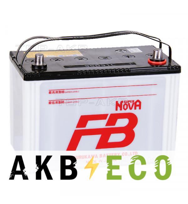 Автомобильный аккумулятор FB Super Nova 95D31L (80R 740A 306x173x225)