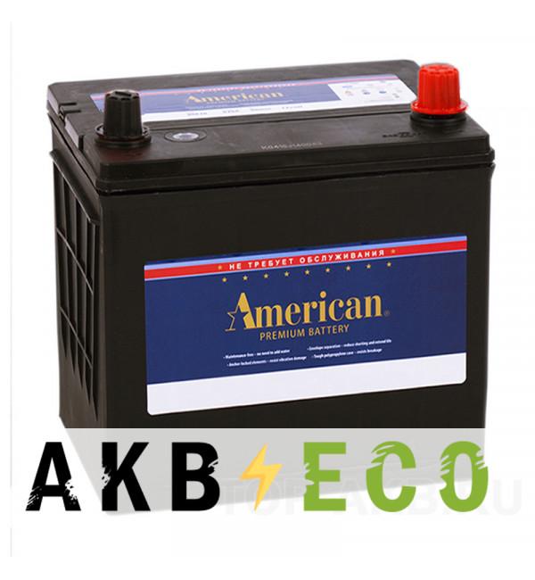 Автомобильный аккумулятор American 26R550 (60R 550A 207х175х200)