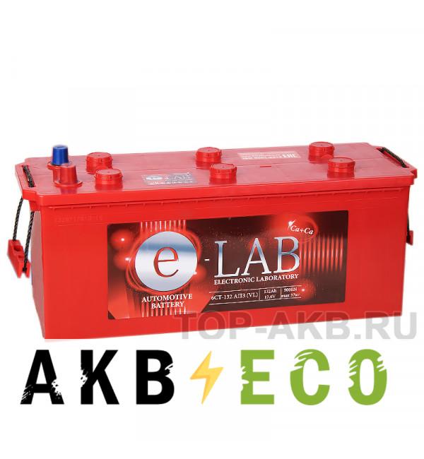 Автомобильный аккумулятор E-LAB 132 рус 900A (513x189x223)
