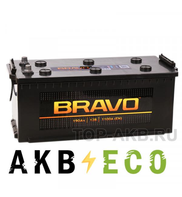 Автомобильный аккумулятор Аком BRAVO 190 евро 1100А 513x215x223