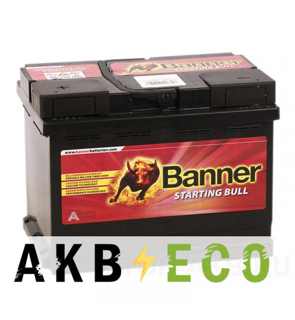 Автомобильный аккумулятор Banner Starting Bull (560 08) 60L 480A 242x175x175