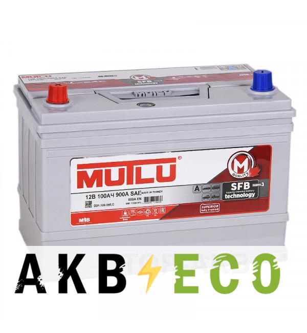 Автомобильный аккумулятор Mutlu 115D31FR 100L 850A (306x175x225)
