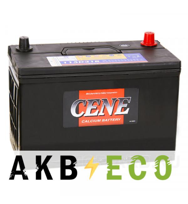 Автомобильный аккумулятор Cene 115D31R (100L 800A 306x173x225)