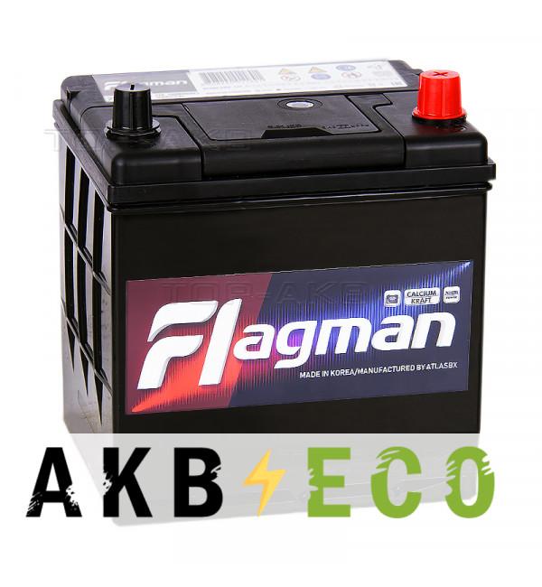 Автомобильный аккумулятор Flagman 26R-550 50R 550A 208x172x200