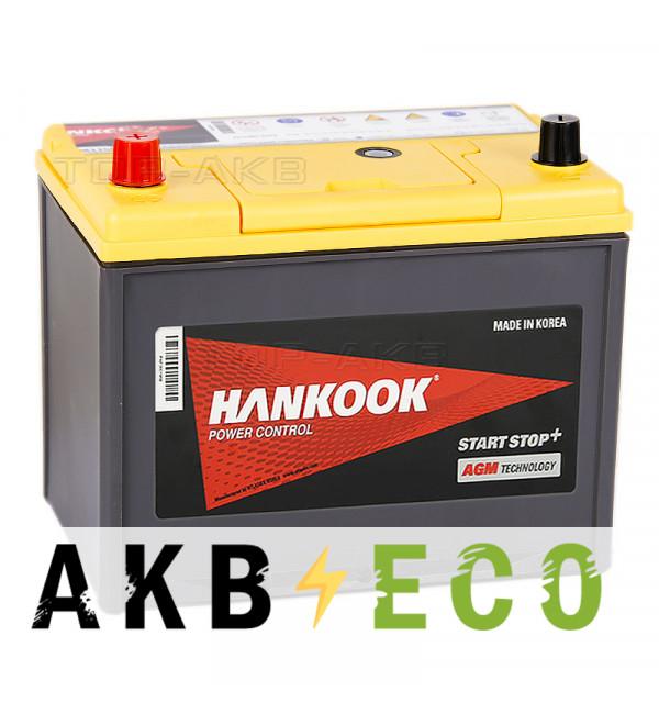 Автомобильный аккумулятор Hankook AGM 65D26R (75L 750A 260х173х225) Start Stop Plus