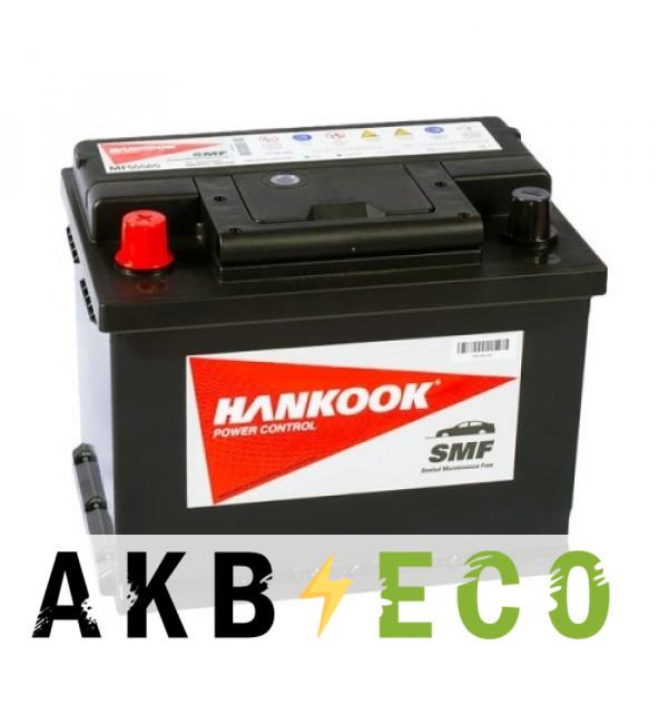 Автомобильный аккумулятор Hankook 55565 (55L 480A 242х174х190)