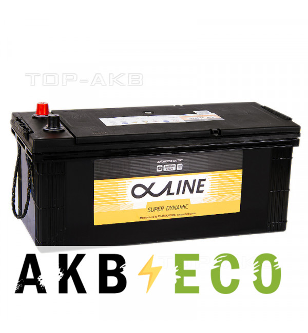 Автомобильный аккумулятор Alphaline SD 190G51R 190 Ач обратная пол.(евро) 1100A 513x223x223