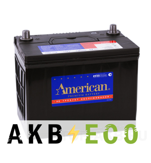 Автомобильный аккумулятор American 34R770 (90R 770A 260x173x225)
