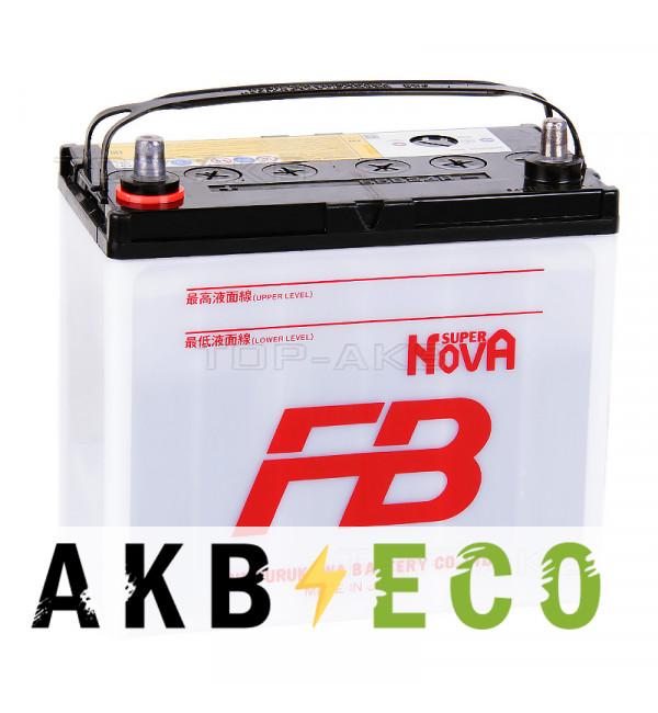 Автомобильный аккумулятор FB Super Nova 55B24R (45L 440A 238x129x225)