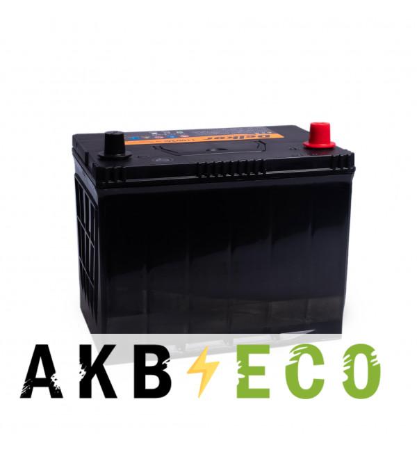 Автомобильный аккумулятор Delkor 110D26L (90R 720A 260x173x225)