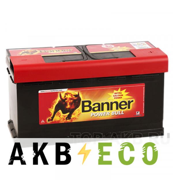 Автомобильный аккумулятор BANNER Power Bull (95 33) 95R 780A 353x175x190