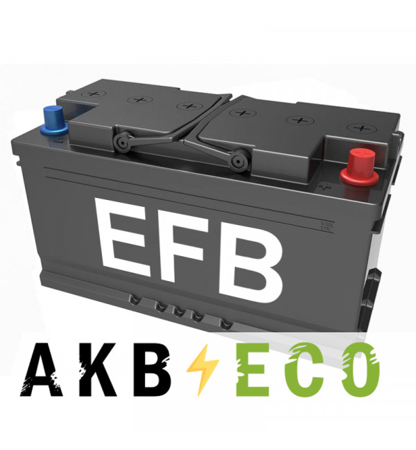 Автомобильный аккумулятор Подменный L5 EFB обр. пол. (353x175x190) 90-95 Ач