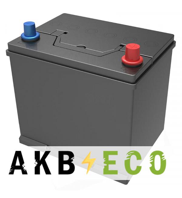 Автомобильный аккумулятор Подменный D23 обр. пол. (232x173x225) нижнее крепл. 60-65 Ач