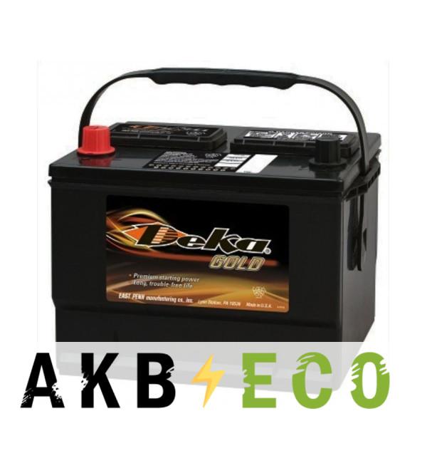 Автомобильный аккумулятор Deka 659MF 12V 63 Ah (590A 255x190x192) BXT 59 прямая пол.