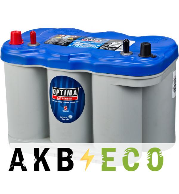 Автомобильный аккумулятор OPTIMA Blue Top 66 Ач 845А (309x172x221) BT DC 5.0 8027-227