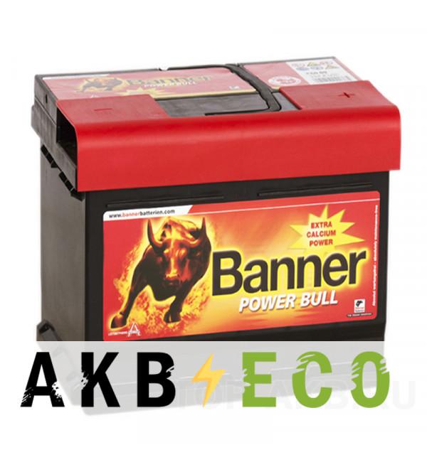 Автомобильный аккумулятор BANNER Power Bull (50 03) 50R 450A 207x175x190
