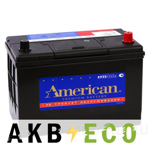Автомобильный аккумулятор American 115D31L (100R 850A 306x173x225)