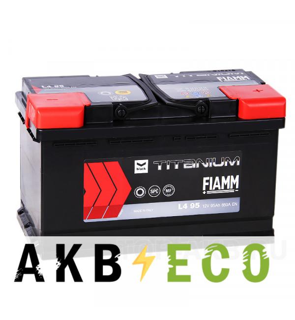 Автомобильный аккумулятор Fiamm Black Titanium 95R 850A 315x175x190 L4 95