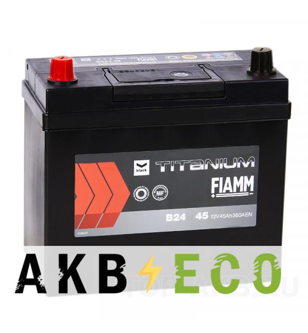 Автомобильный аккумулятор Fiamm Asia 45L 360A 238x129x225