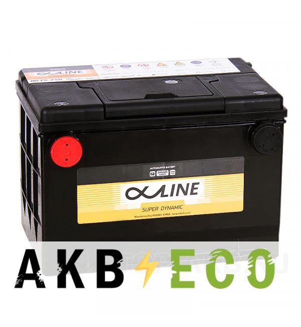 Автомобильный аккумулятор Alphaline SD 78-750 85L 750A 260x175x185 боковые клеммы